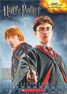 Harry Potter Deluxe Coloring Book