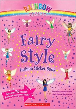 Fairy Style Fashion Sticker Book (Rainbow Magic Series)