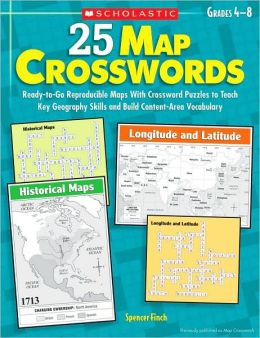 25 map crosswords ready to go reproducible maps with for Century plant crossword clue