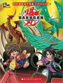 Bakugan Create and Trace
