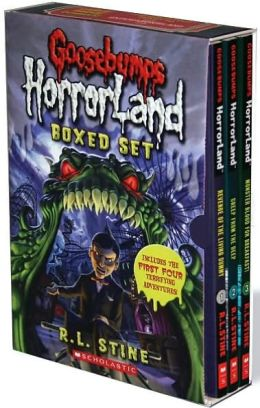 Goosebumps Horrorland Boxed Set #1-4 (Goosebumps HorrorLand Series)