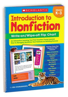 Introduction to Nonfiction Write-on/ Wipe-off Flip Chart: An Interactive Learning Tool That Teaches Young Learners How to Navigate Nonfiction Text Features for Reading Success