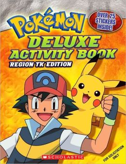 Pokemon Deluxe Activity Book: Johto Edition