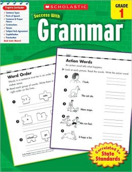 Scholastic Success With Grammar, Grade 1