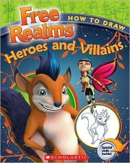 How To Draw Freerealms' Heroes And Villains