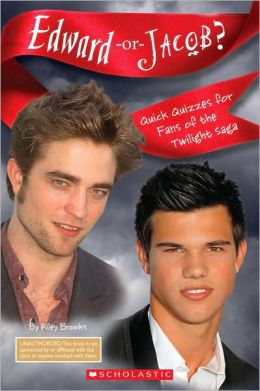 Edward Or Jacob? Quick Quizzes For Fans Of The Twilight Saga