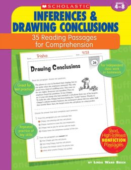 35 Reading Passages for Comprehension: Inferences & Drawing Conclusions (PagePerfect NOOK Book)