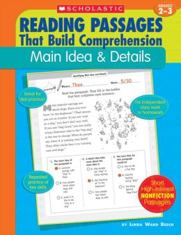 Reading Passages That Build Comprehension: Main Idea & Details (PagePerfect NOOK Book)
