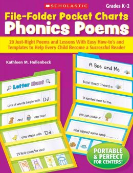 File-Folder Pocket Charts: Phonics Poems: 20 Just-Right Poems and Lessons With Easy How-to's and Templates to Help Every Child Become a Successful Reader (PagePerfect NOOK Book)