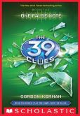 Book Cover Image. Title: One False Note (The 39 Clues Series #2), Author: Gordon Korman