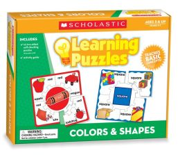 Colors & Shapes Learning Puzzles