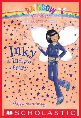 Inky the Indigo Fairy (Rainbow Magic Series #6)