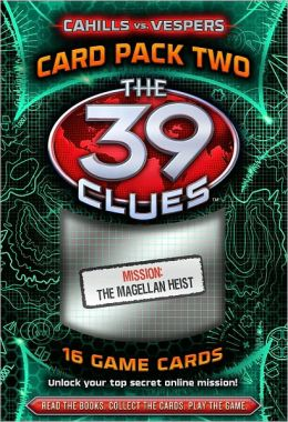 The 39 Clues: Cahills vs. Vespers: Card Pack 2: The Magellan Heist