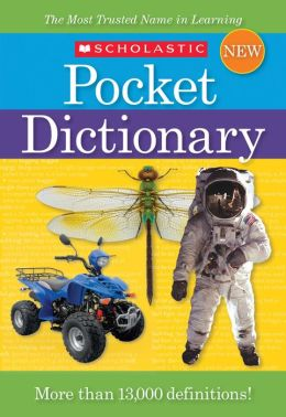 Scholastic Pocket Dictionary (New)