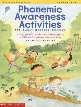 Phonemic Awareness Activities for Early Reading Success: Easy, Playful Activities That Prepare Children for Phonics Instruction (PagePerfect NOOK Book)