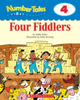 Number Tales: Four Fiddlers (PagePerfect NOOK Book)