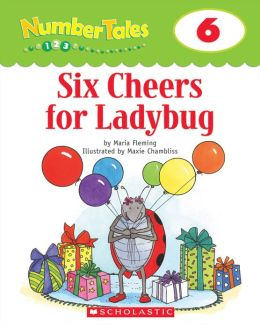 Number Tales: Six Cheers for Ladybug (PagePerfect NOOK Book)