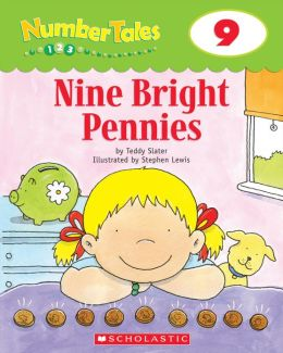 Number Tales: Nine Bright Pennies (PagePerfect NOOK Book)