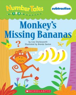 Number Tales: Monkey's Missing Bananas (PagePerfect NOOK Book)