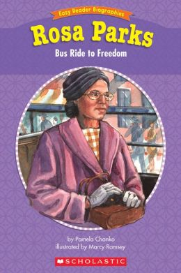 Easy Reader Biographies: Rosa Parks: Bus Ride to Freedom (PagePerfect NOOK Book)