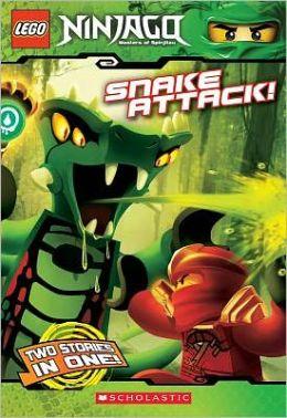 Snake Attack! (Lego Ninjago Chapter Book Series #5)