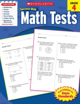 Scholastic Success with Math Tests (Grade 4) (PagePerfect NOOK Book)