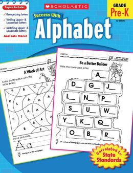 Scholastic Success With Alphabet (PagePerfect NOOK Book)