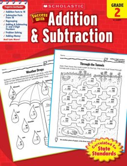 Scholastic Success With Addition & Subtraction: Grade 2 (PagePerfect NOOK Book)