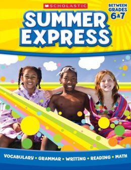 Summer Express Between Sixth and Seventh Grade (PagePerfect NOOK Book)