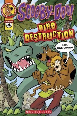 Scooby-Doo Comic Storybook #4: Dino Destruction
