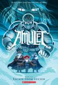 Book Cover Image. Title: Amulet #6:  Escape From Lucien, Author: Kazu Kibuishi