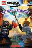Book Cover Image. Title: LEGO Ninjago:  Attack of the Nindroids(Reader #8), Author: Tracey West