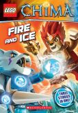 Book Cover Image. Title: LEGO Legends of Chima:  Fire and Ice (Chapter Book #6), Author: Greg Farshtey
