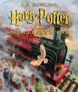 Book Cover Image. Title: Harry Potter and the Sorcerer's Stone:  The Illustrated Edition (Harry Potter Series #1), Author: J. K. Rowling