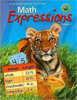 Math Expressions: Student Activity Book (Softcover), Volume 1 Level 2 2009
