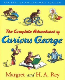 Curious George: The Complete Adventures Deluxe Book and CD Gift Set