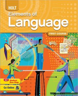 Elements of Language: Homeschool Package Grade 7 First Course