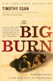 Book Cover Image. Title: The Big Burn:  Teddy Roosevelt and the Fire that Saved America, Author: Timothy Egan
