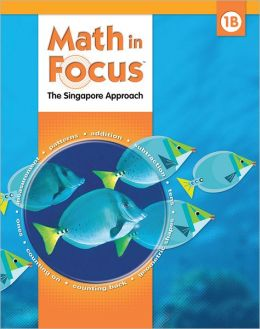 Houghton Mifflin Harcourt Math in Focus Homeschool Package, 2nd Semester Grade 1