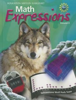 Math Expressions: Student Activity Book Hardcover Volume 2 Grade 6 2012