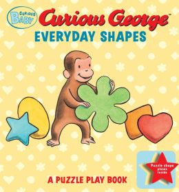 Curious Baby Everyday Shapes Puzzle Book: A Puzzle Play Book