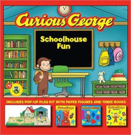 Curious George Schoolhouse Fun (CGTV Book and Play Set)