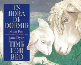 Es hora de dormir / Time for Bed bilingual