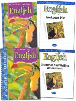HMH Language Arts: Houghton Mifflin English Homeschool Package Grade 4