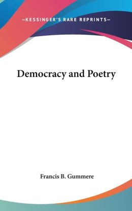 Democracy and Poetry