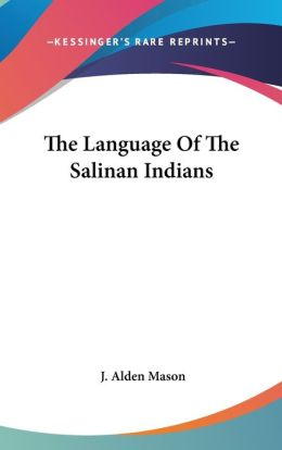 Language of the Salinan Indians