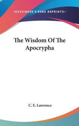 Wisdom of the Apocryph