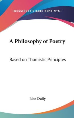 A Philosophy Of Poetry