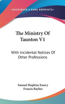 The Ministry Of Taunton V1