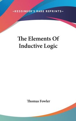 Elements of Inductive Logic